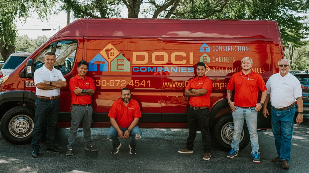 Doci Companies Team Against Doci Truck